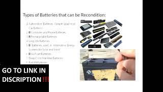 ez battery reconditioning - Review Ez Battery Scam or Legit