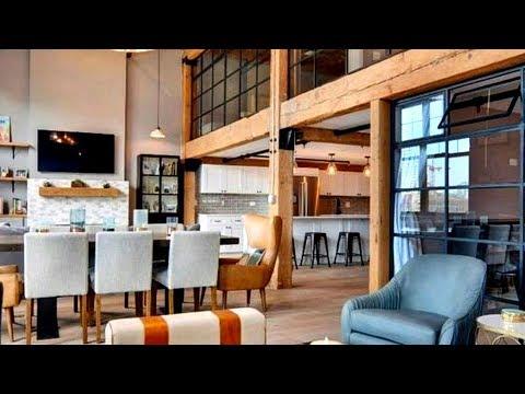 The Sims 4 |  Rustic Scandinavian Loft Apartment  | Speed Build + Download Links