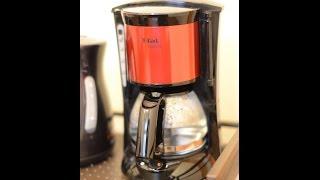 T-fal コーヒーメーカー (スビト)CM151GJP メタリックレッド