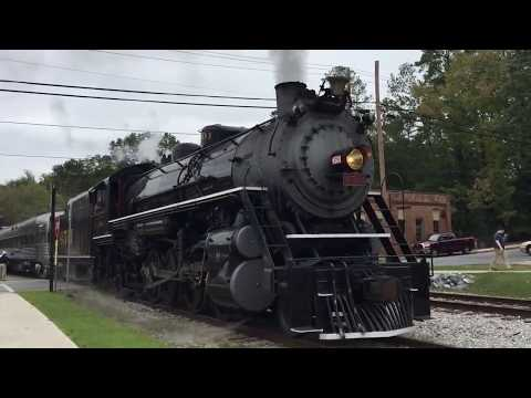 Southern 4501-TVRM Steam Special-Summerville, GA 10/14/2017 ©