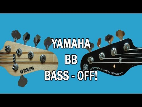 Head-to-head bass off!! || Yamaha BB434  Bass Demo / Review / Comparison