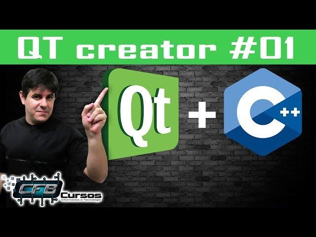 Download, instalação e primeiro projeto no QT Creator - Curso de QT Creator / C++ #01