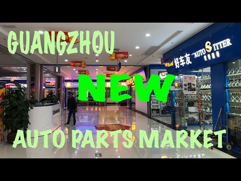 Brand New Auto Parts Wholesale Market In Guangzhou