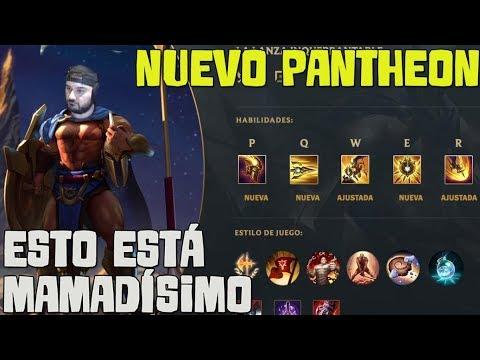 PANTHEON REWORK | El nuevo Pantheon es DIOS!!! De los mejores Reworks de Riot