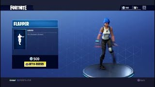 Fortnite Flapper Emote 500 V- Bucks
