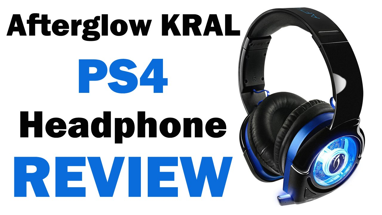 635e8014b3a Afterglow Kral PS4 Wireless Headphone Review - YouTube