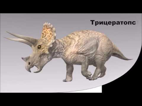 Как называются динозавры с картинками
