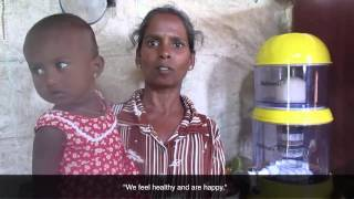 Water Filter and Women Empowerment in Sri Lanka