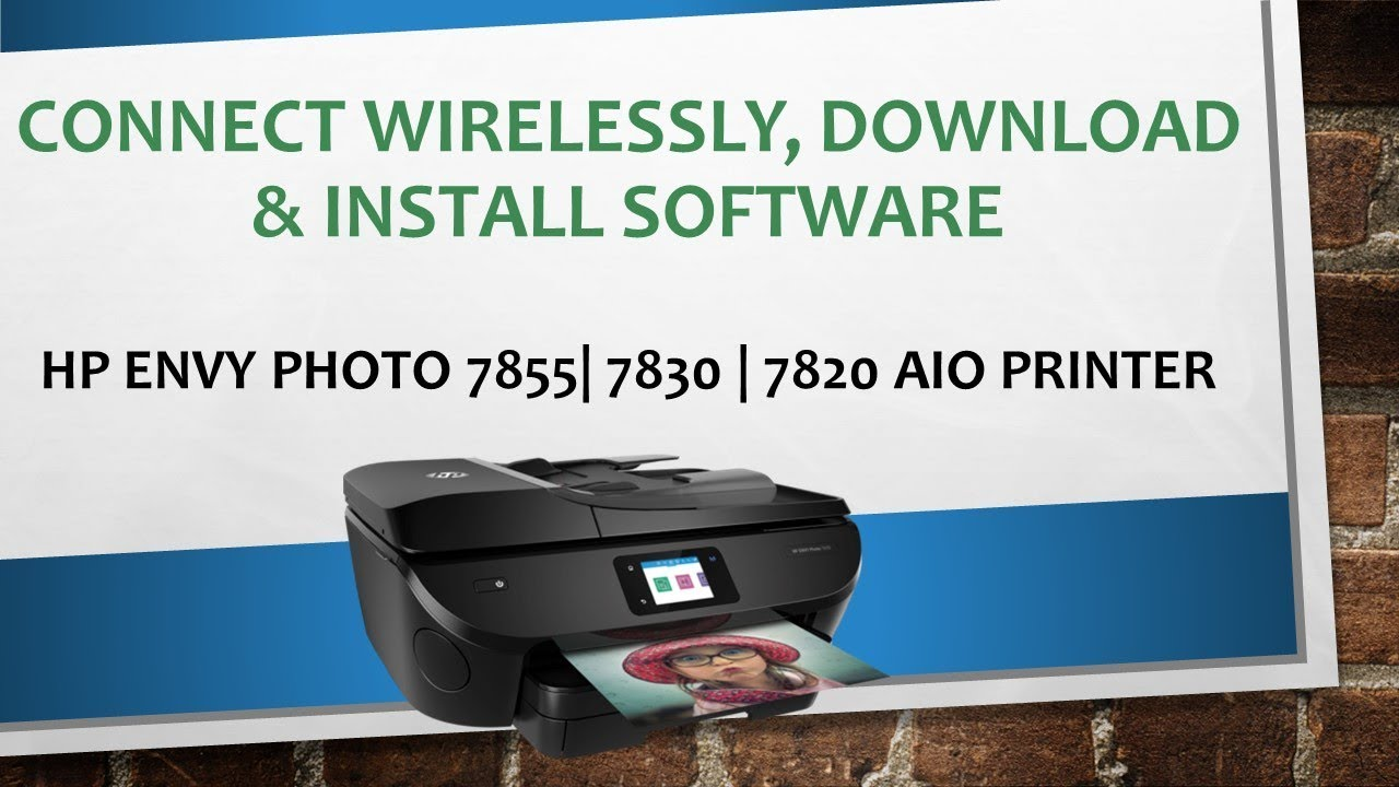 Hp Envy Photo 7855 7155 6255 Connect Printer Wirelessly Download