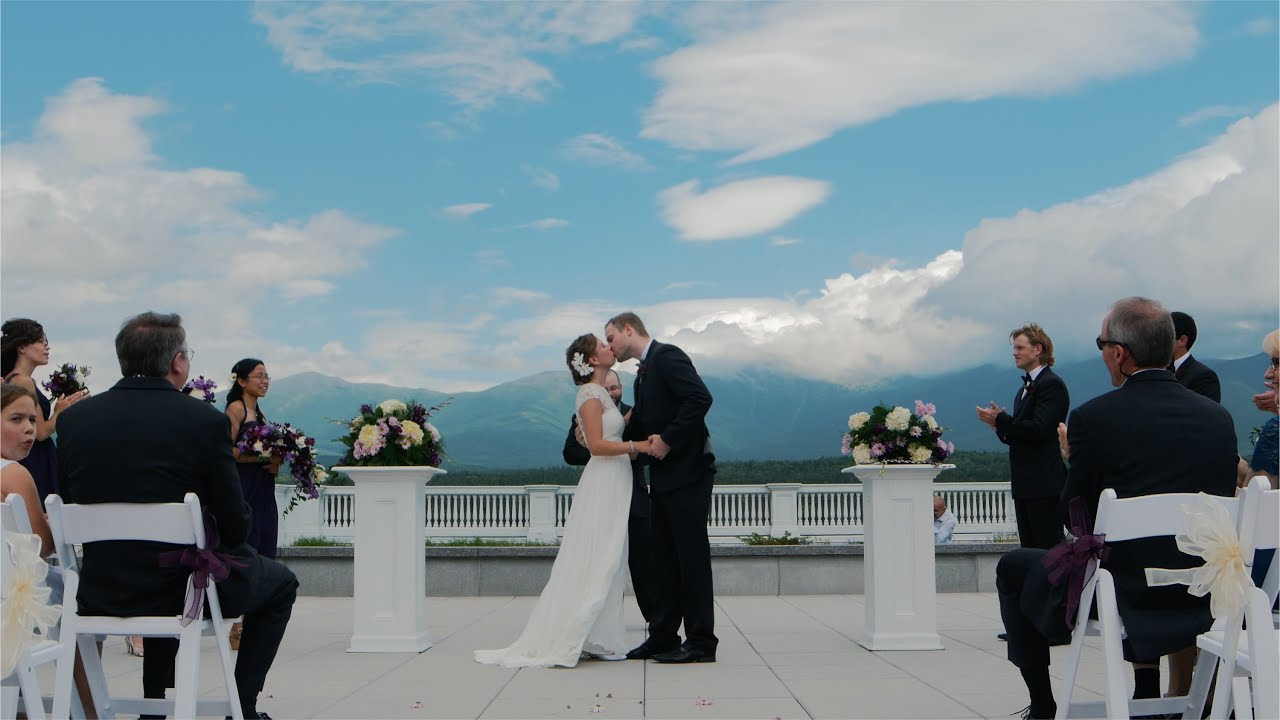 Omni Mount Washington Resort Wedding Trailer Emily And Luke