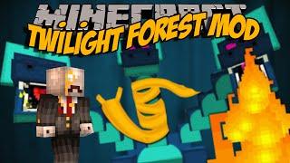 TWİLİGHT FOREST MODU!! - Minecraft Mod İncelemeleri - Bölüm 21