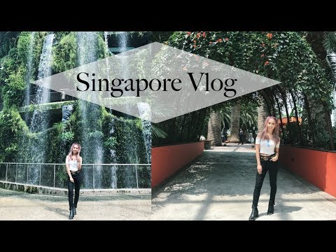Singapore [Flower Dome, Cloud Forest, Marina Bay] || Travel Vlog