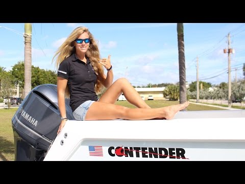Contender Boats at 2016 Miami Boat Show--Come on Down!
