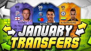 INSANE JANUARY TRANSFERS ON ULTIMATE TEAM?!