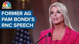 Former AG Pam Bondi makes allegations against Joe Biden's son Hunter Biden