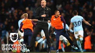 Las proezas en números de Pep Guardiola con el Manchester City