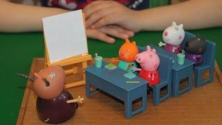 Школа Свинки Пеппы | Урок математики