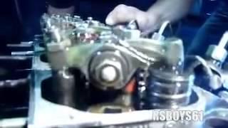 Deutz Motor FL4 912 Testlauf