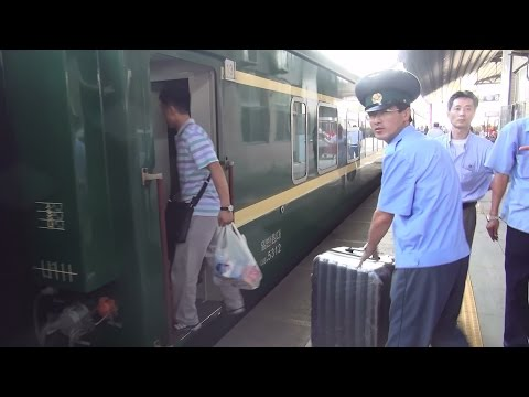 From Beijing to North Korea border by train