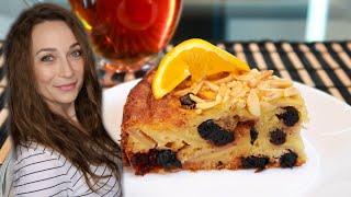 Воздушный яблочный пирог с черникой Необычайно вкусный рецепт