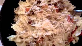 Bowtie Pasta Italian Sausage Peppers