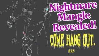 Nightmare Mangle Revealed New FNAF 4 Halloween Teaser image