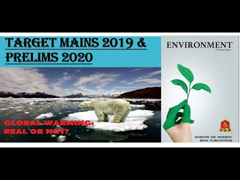 L-1:GLOBAL WARMING AND GREENHOUSE GAS EFFECT -ENVIRONMENT BY Shankar Ias Academy:UPSC/STATE_PSC/SSC