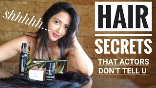 Hair Care Secrets of ACTING WORLD | Fixing Balding, Hair Thinning, Hair Length & Volume