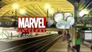 Disney channel Ukraine - Continuity 04-12-12