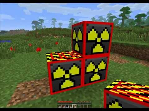 Thumbnail: Minecraft Mega nuke, blowing up minecraft blocks with Explosives+
