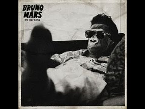 Bruno Mars : The Lazy Song (Audio)