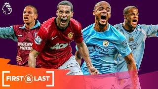 Premier League Defenders' First & Last Goals   Rio Ferdinand, Vincent Kompany & More!