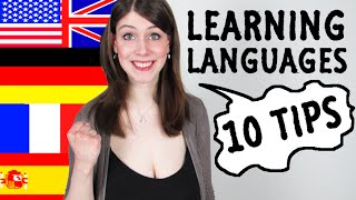 10 TIPS How To LEARN LANGUAGES By Yourself