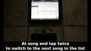 MySongBook with AirTurn