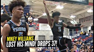 Mikey Williams LOSES HIS MIND & Drops CRAZY 37 POINTS!! Calls Out OFF THE BACKBOARDD!!