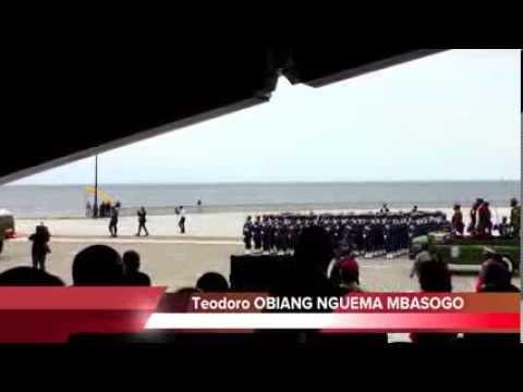 Fête de l'Indépendance à Malabo le 12 octobre 2013