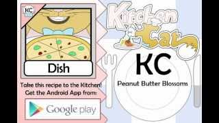 Peanut Butter Blossoms - Kitchen Cat