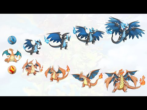 The Ultimate Evolution Form Of All Starters Pokémon (Gen 1 - Gen 8)