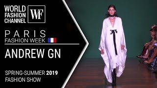 Cover images Andrew GN | Spring-summer 2019 Paris fashion week