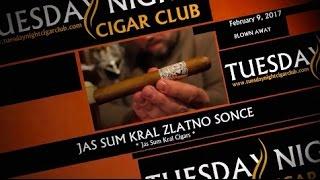 "Tuesday Night Cigar Club 45 - ""Blown Away, Zlatno Sonce cigar, Lagunitas Sucks beer"""
