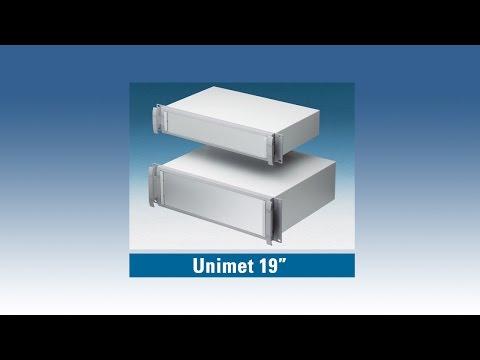 UNIMET | 19-Zoll Rack-Gehäuse | 2HE Und 3HE