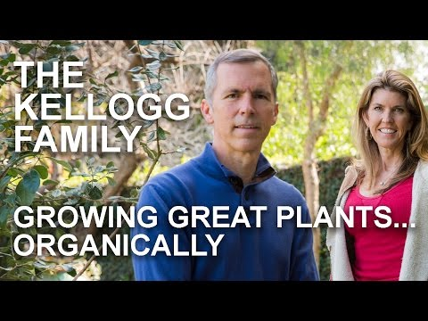 Growing great plants... Organically