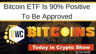 Bitcoin ETF Is 90% Positive To Be Approved.. Bitcoin Is Mooning..