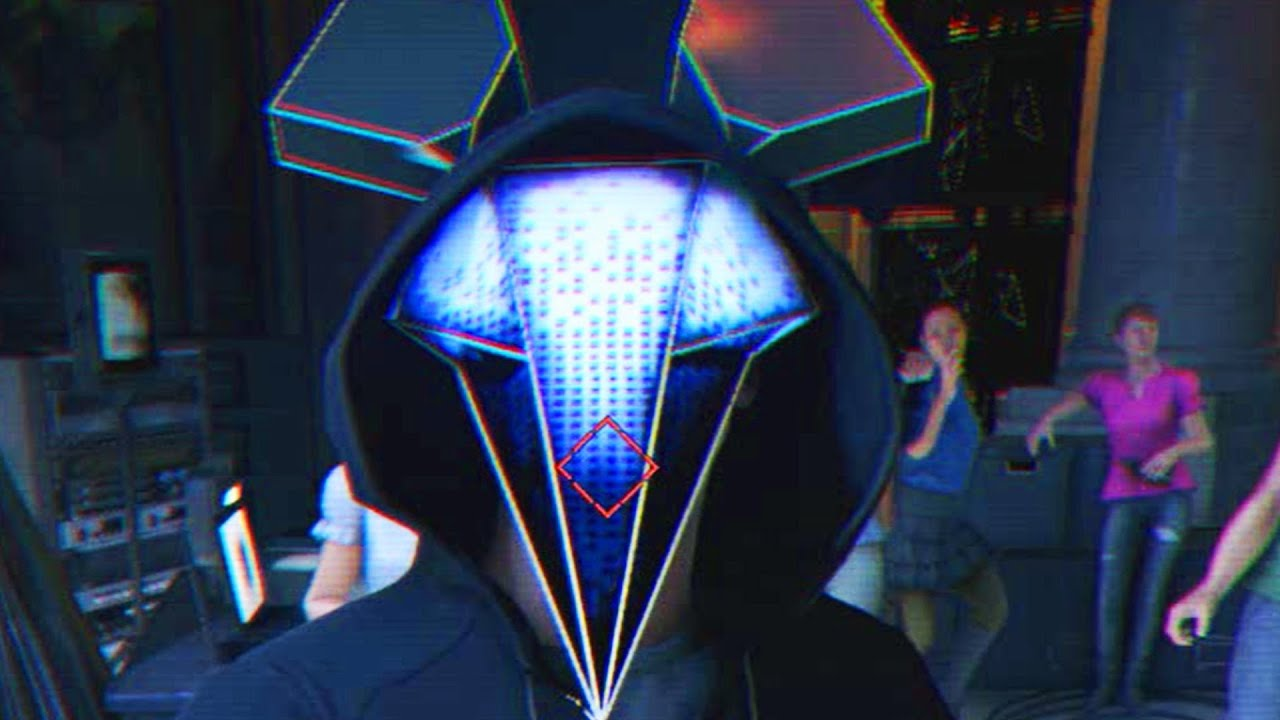 Watch Dogs  Mask Guy