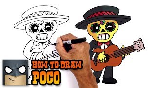 How to Draw Poco | Brawl Stars