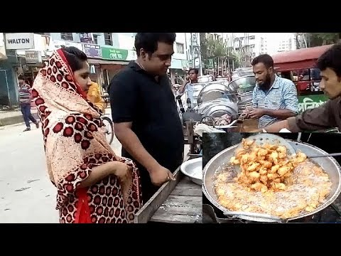 Village Real Peaju, Bengoli Real Taste  Street food of Dhaka  Bangladeshi Food
