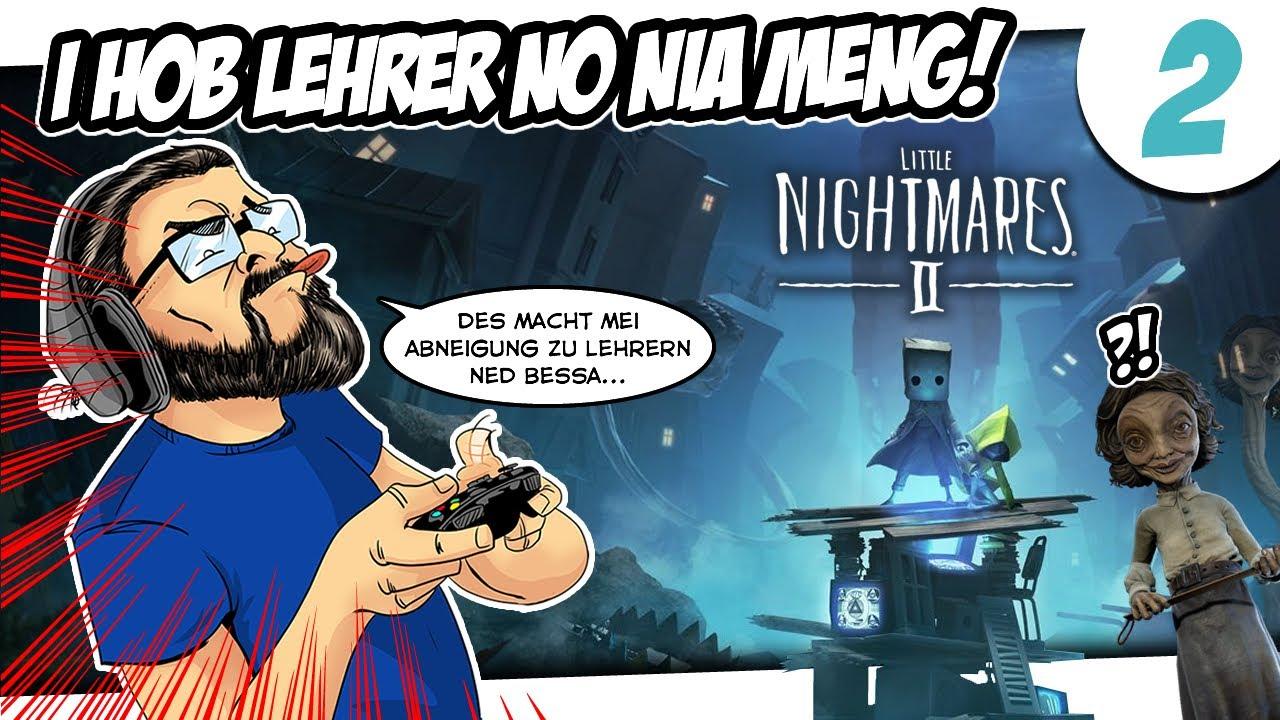 🎮 BIRGER ZOCKT: Little Nightmares 2 #2 - I hob Lehrer no nia so meng...