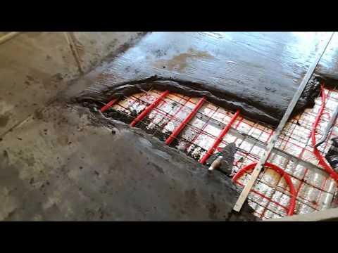Толщина стяжки под тёплый пол Секреты монтажа