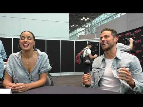 NYCC 2018:  MIDNIGHT, TEXAS  Paris Fitz Henley, Dylan Bruce Talk Season Premiere