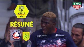 LOSC - FC Nantes ( 2-1 ) - Résumé - (LOSC - FCN) / 2019-20
